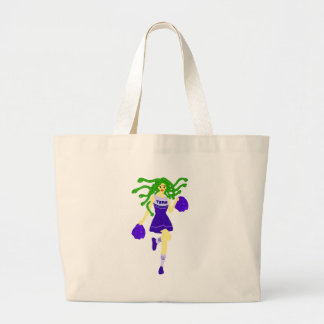 Grand Tote Bag monstre de pom-pom girl
