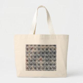 Grand Tote Bag Motif anonyme