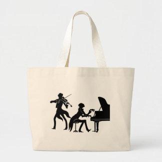 Grand Tote Bag Musiciens