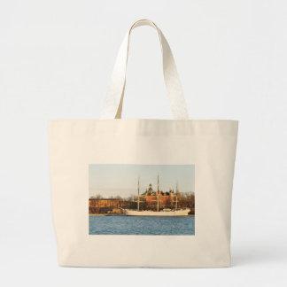 Grand Tote Bag Naviguant à Stockholm, la Suède