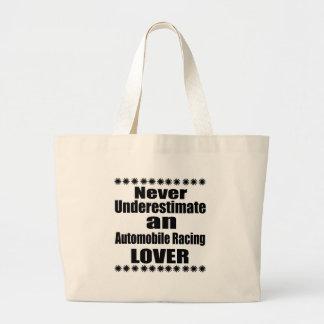 Grand Tote Bag Ne sous-estimez jamais l'automobile emballant