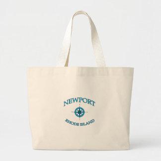 Grand Tote Bag Newport Île de Rhode nautique