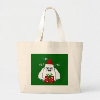Grand Tote Bag Noël de yeti