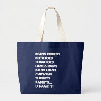 Grand Tote Bag Nom d'U il défi