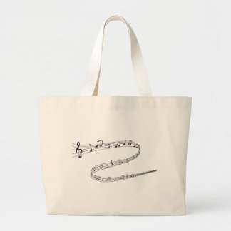 Grand Tote Bag Notes musicales