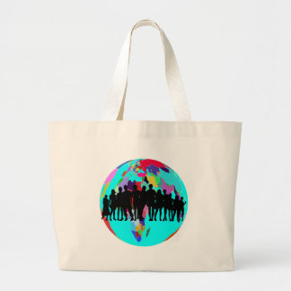 GRAND TOTE BAG NOUS SOMMES FAMILLE
