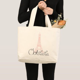 Grand Tote Bag Oh ! La de La ! Tour Eiffel