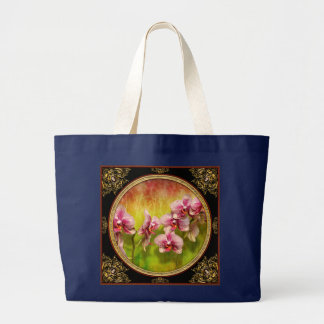 Grand Tote Bag Orchidée - Phalaenopsis - simplement un plaisir