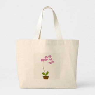 Grand Tote Bag orchidées