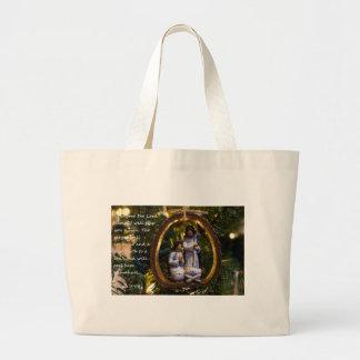 Grand Tote Bag Ornement Isiah sept quatorze de nativité