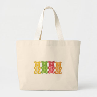 Grand Tote Bag Ours gommeux
