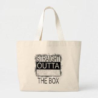 Grand Tote Bag Outta droit la boîte