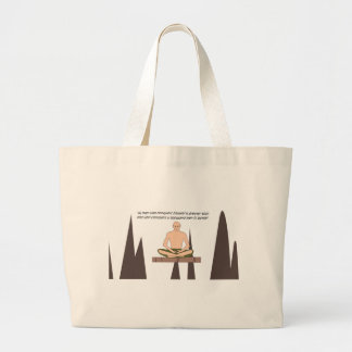 Grand Tote Bag paix en dedans