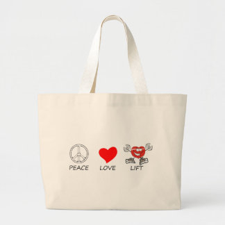 Grand Tote Bag paix love22