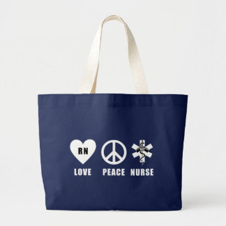 Grand Tote Bag Paix RN d'amour