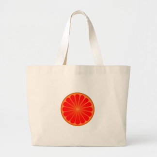 Grand Tote Bag Pamplemousse