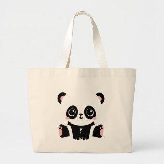 Grand Tote Bag Panda adorable