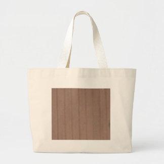 Grand Tote Bag panneau en bois droit simple