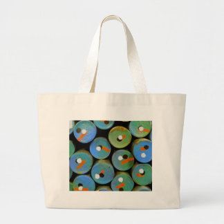 Grand Tote Bag Paon industriel