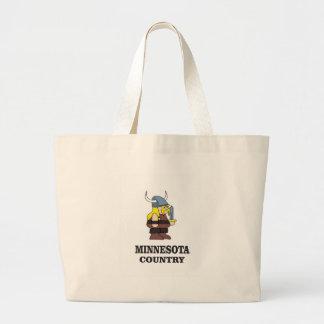 Grand Tote Bag Pays du Minnesota