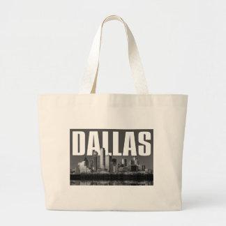 Grand Tote Bag Paysage urbain de Dallas