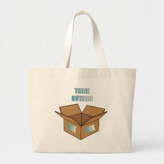 Grand Tote Bag Pensez en dehors de la boîte