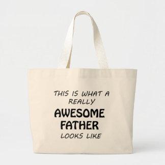 Grand Tote Bag Père impressionnant