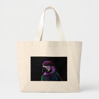 Grand Tote Bag perroquet #2