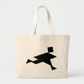 Grand Tote Bag Personne courante de Tangram