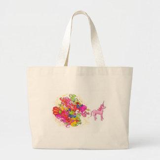 Grand Tote Bag Pet de licorne