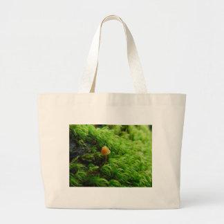 Grand Tote Bag Petit champignon minuscule