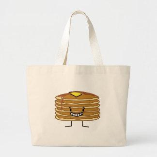 Grand Tote Bag Petit déjeuner pelucheux de sirop de beurre de