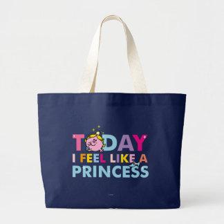 Grand Tote Bag Petite Mlle le princesse | que je me sens comme