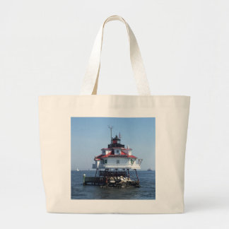 Grand Tote Bag Phare du Maryland