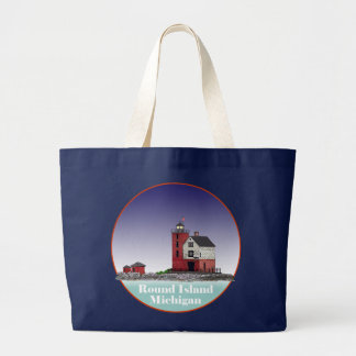 Grand Tote Bag Phare rond d'île