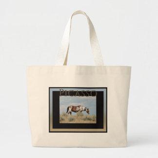 Grand Tote Bag Picasso, étalon de lavabo de sable, le Colorado