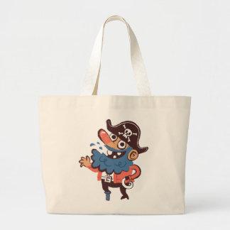 Grand Tote Bag Pirate - aléatoire
