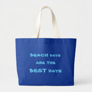 Grand Tote Bag Plage Fourre-tout de jours de plage