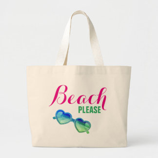 Grand Tote Bag Plage, svp !