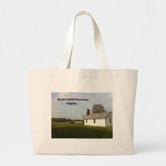 Grand Tote Bag Plantation du château du lard, VA