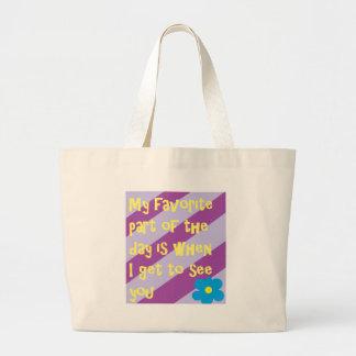Grand Tote Bag Poésie préférée