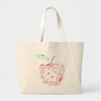 Grand Tote Bag pomme