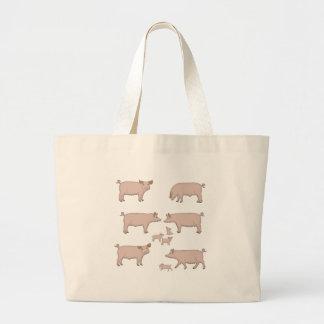 Grand Tote Bag porcs