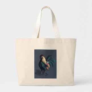 Grand Tote Bag Poulet en pastel de coq