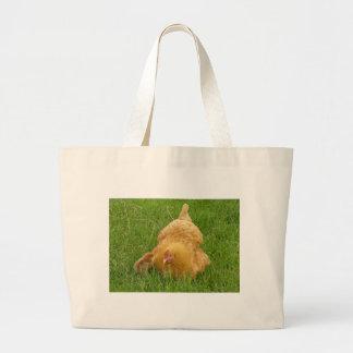 Grand Tote Bag Poulet et poussin de maman