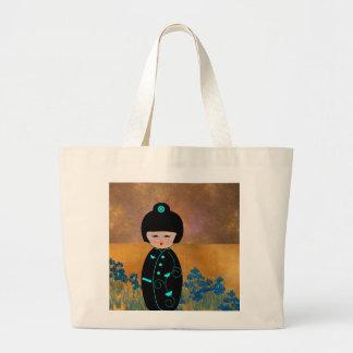 Grand Tote Bag Poupées asiatiques