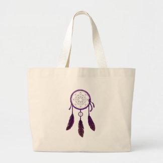 Grand Tote Bag Pourpre rêveur de receveur