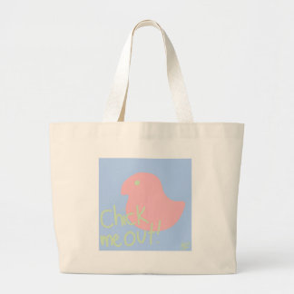 Grand Tote Bag Poussin je 2