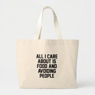 Grand Tote Bag Prévention des personnes