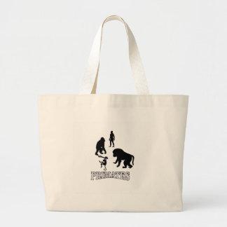 Grand Tote Bag primats d'ombre